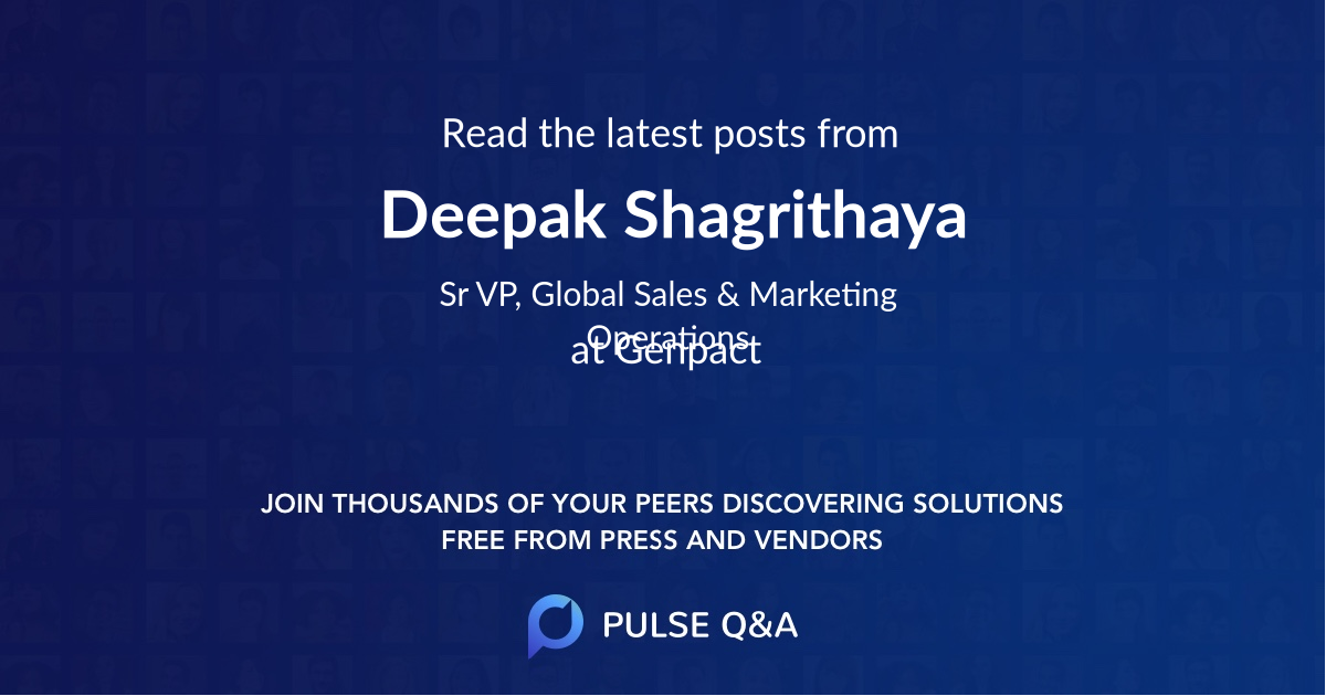 Deepak Shagrithaya