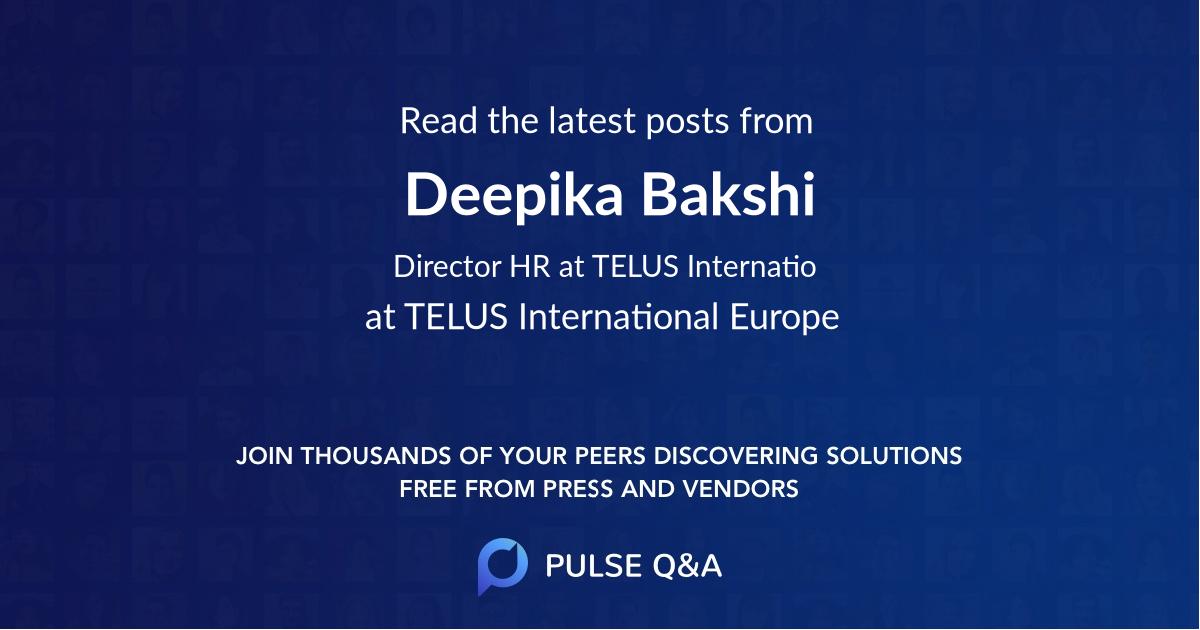 Deepika Bakshi