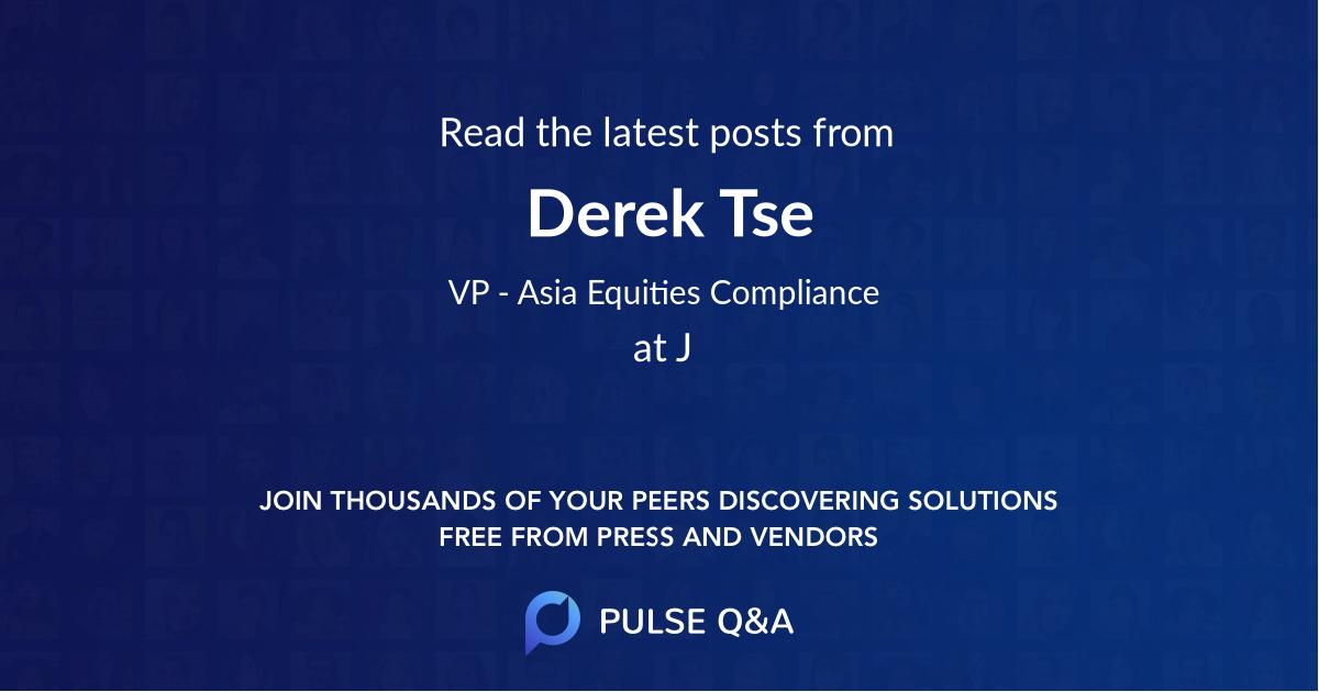 Derek Tse