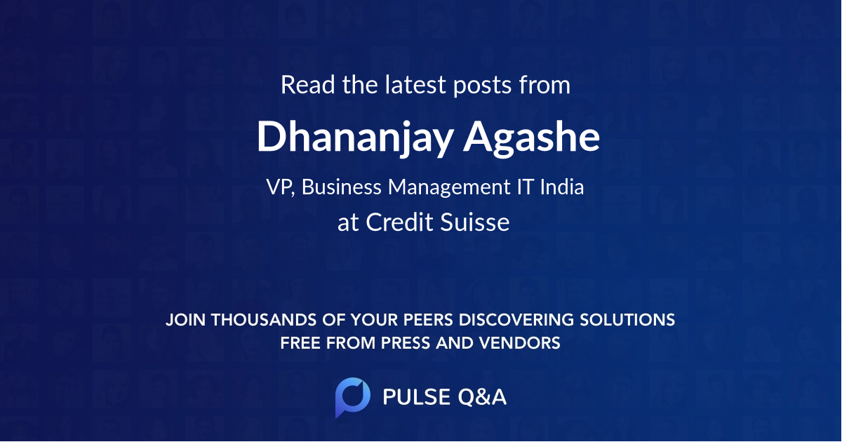Dhananjay Agashe