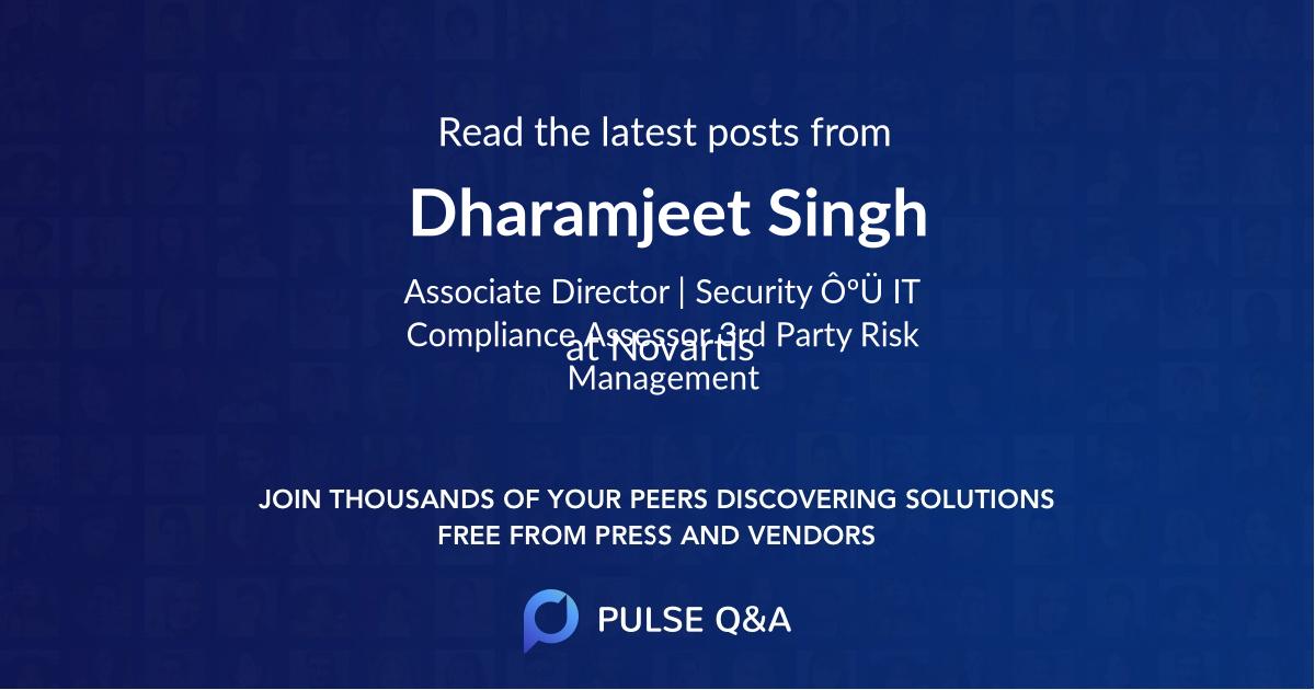 Dharamjeet Singh