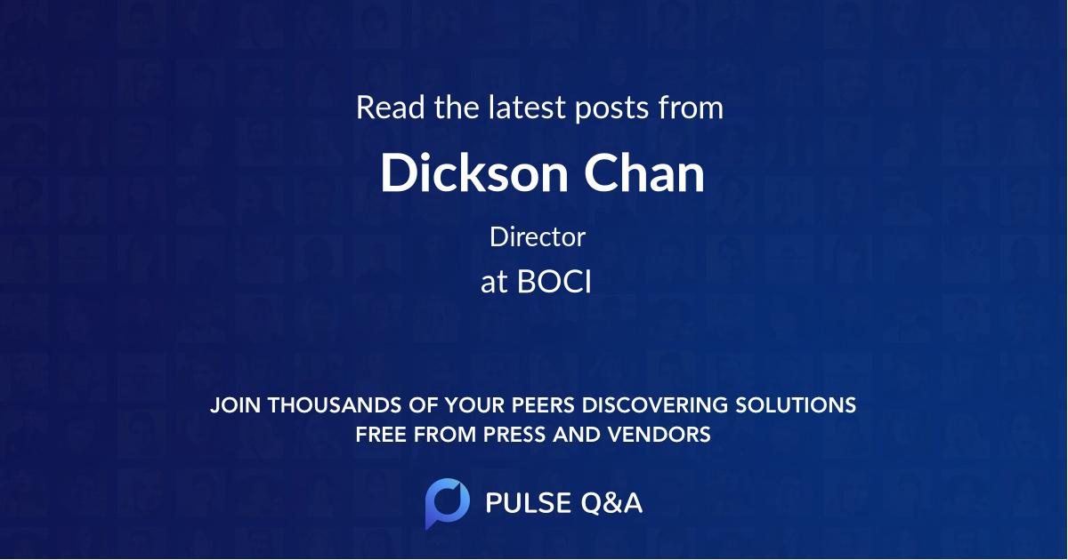 Dickson Chan
