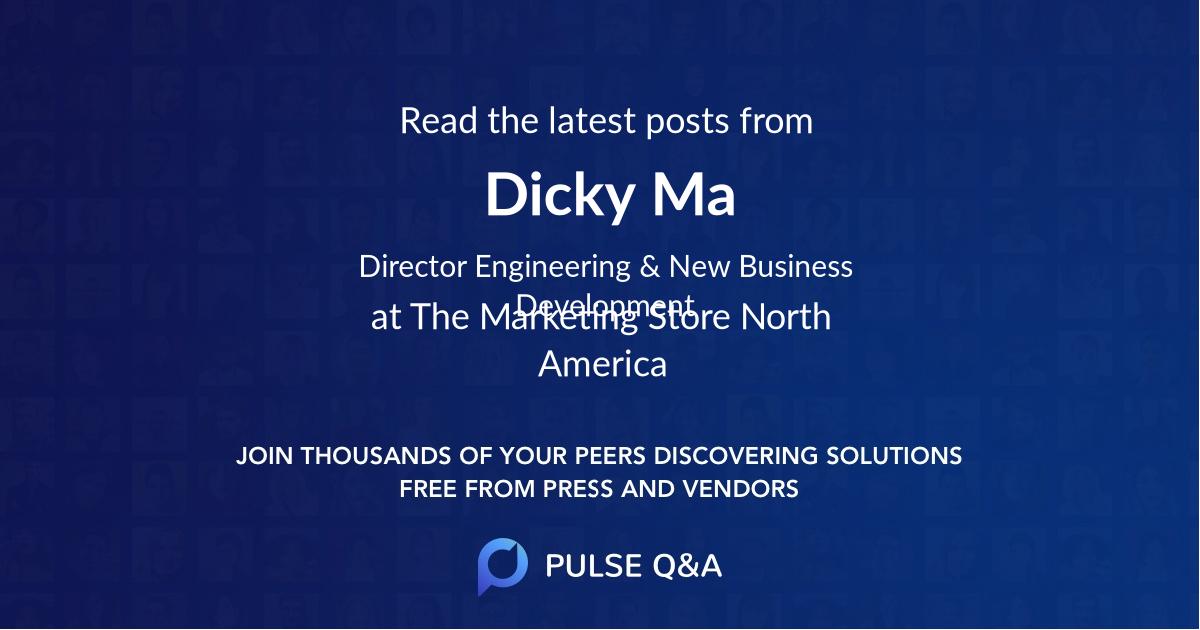 Dicky Ma