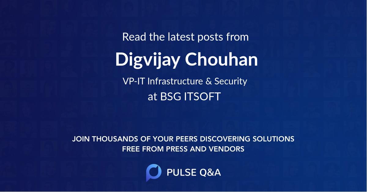 Digvijay Chouhan