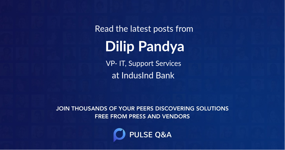 Dilip Pandya