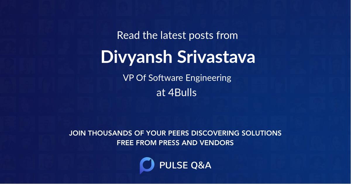 Divyansh Srivastava