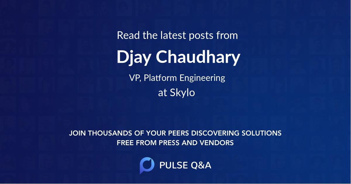 Djay Chaudhary