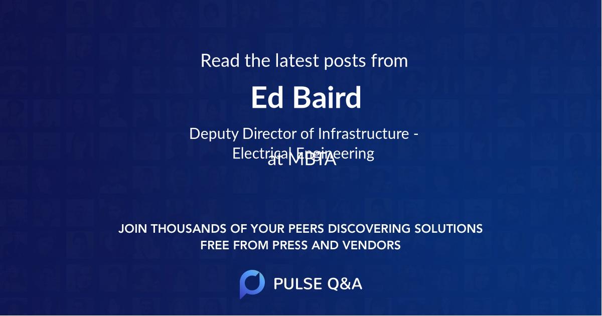 Ed Baird