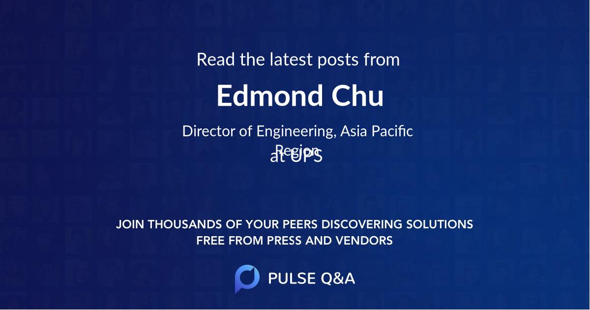 Edmond Chu