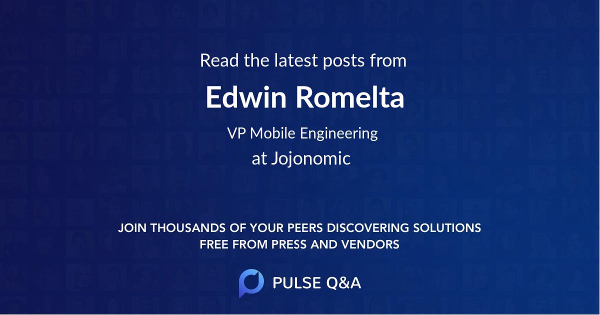 Edwin Romelta