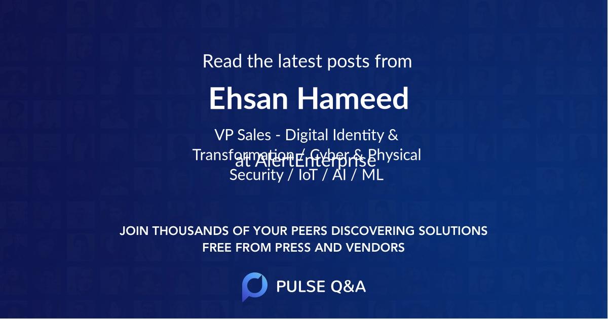 Ehsan Hameed