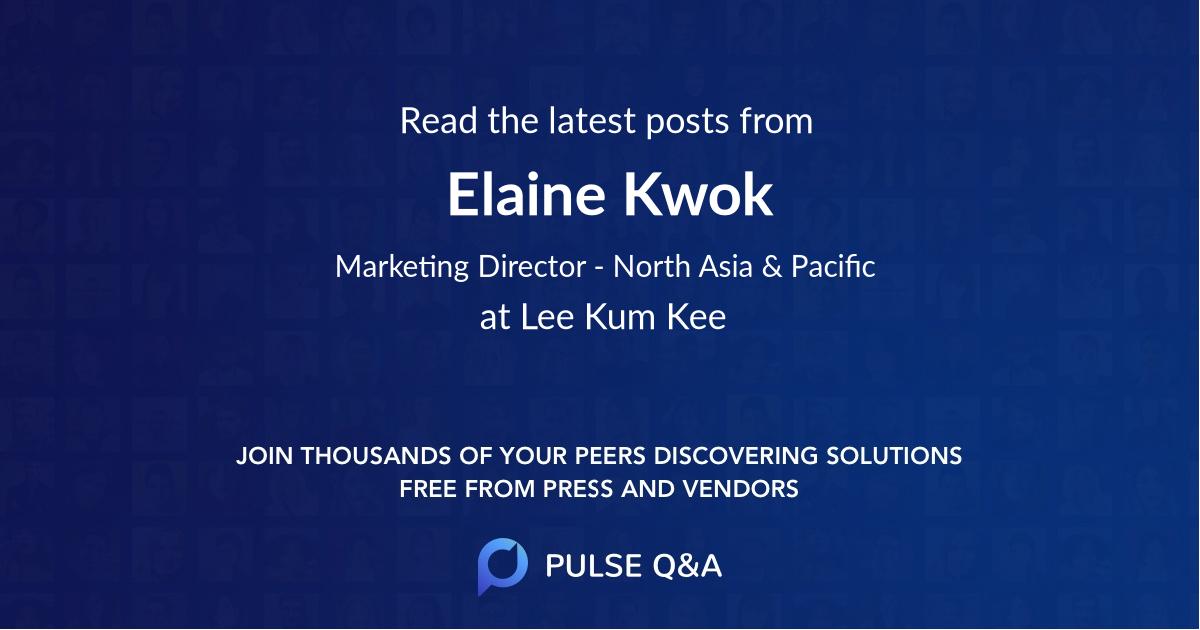 Elaine Kwok