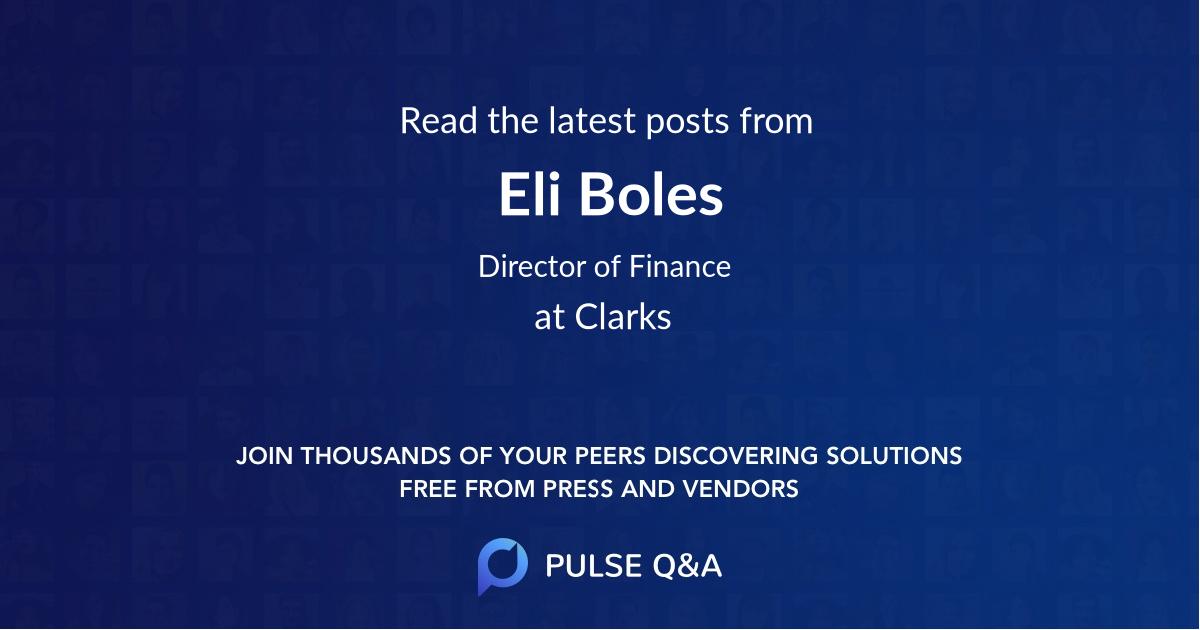 Eli Boles