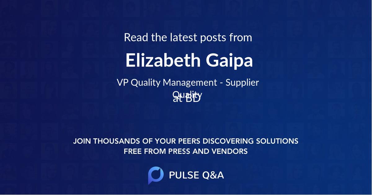 Elizabeth Gaipa