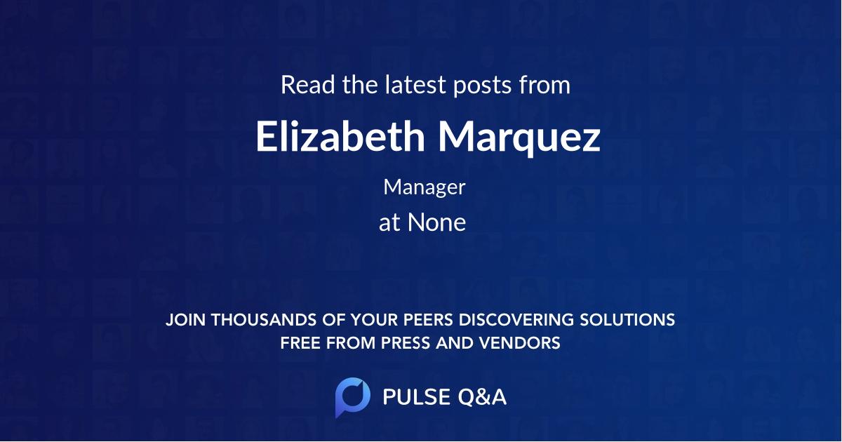 Elizabeth Marquez