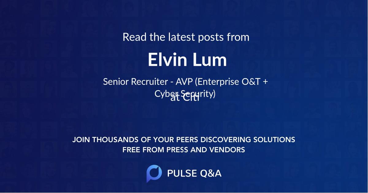 Elvin Lum