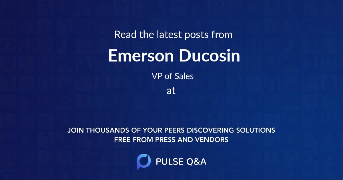 Emerson Ducosin