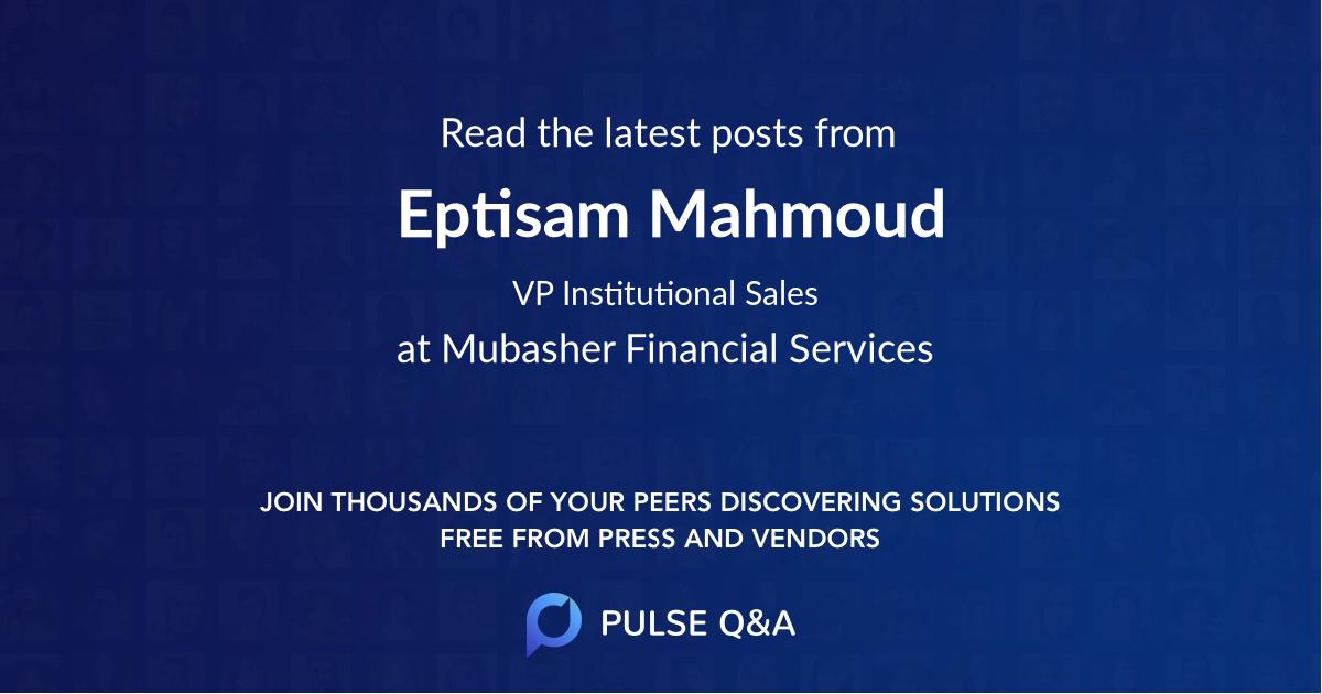 Eptisam Mahmoud