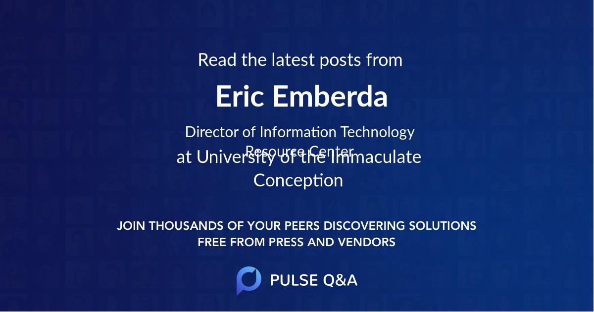 Eric Emberda