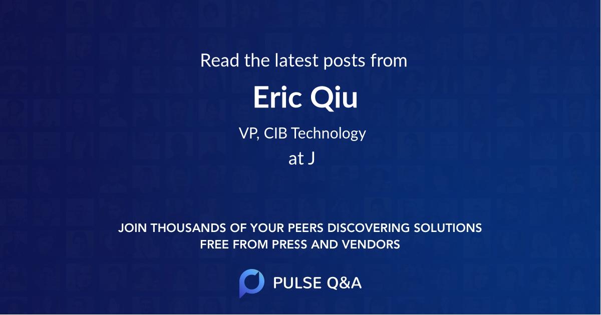 Eric Qiu