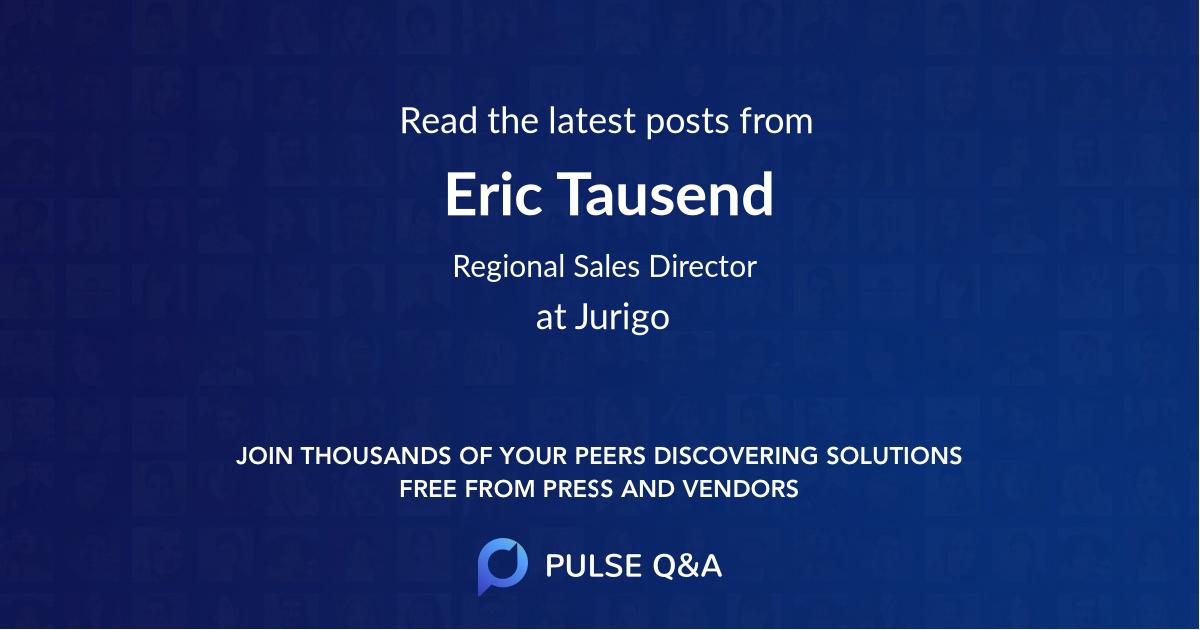 Eric Tausend