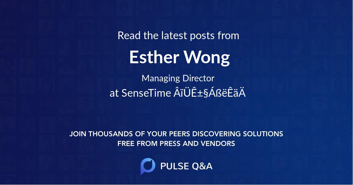 Esther Wong