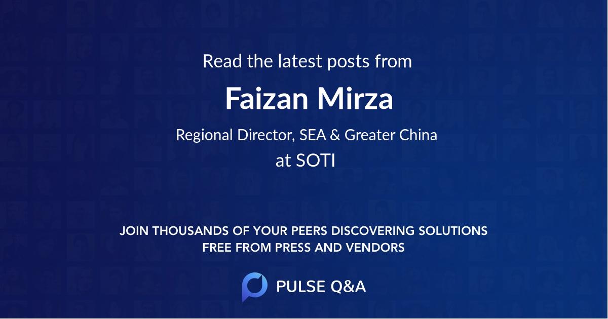 Faizan Mirza