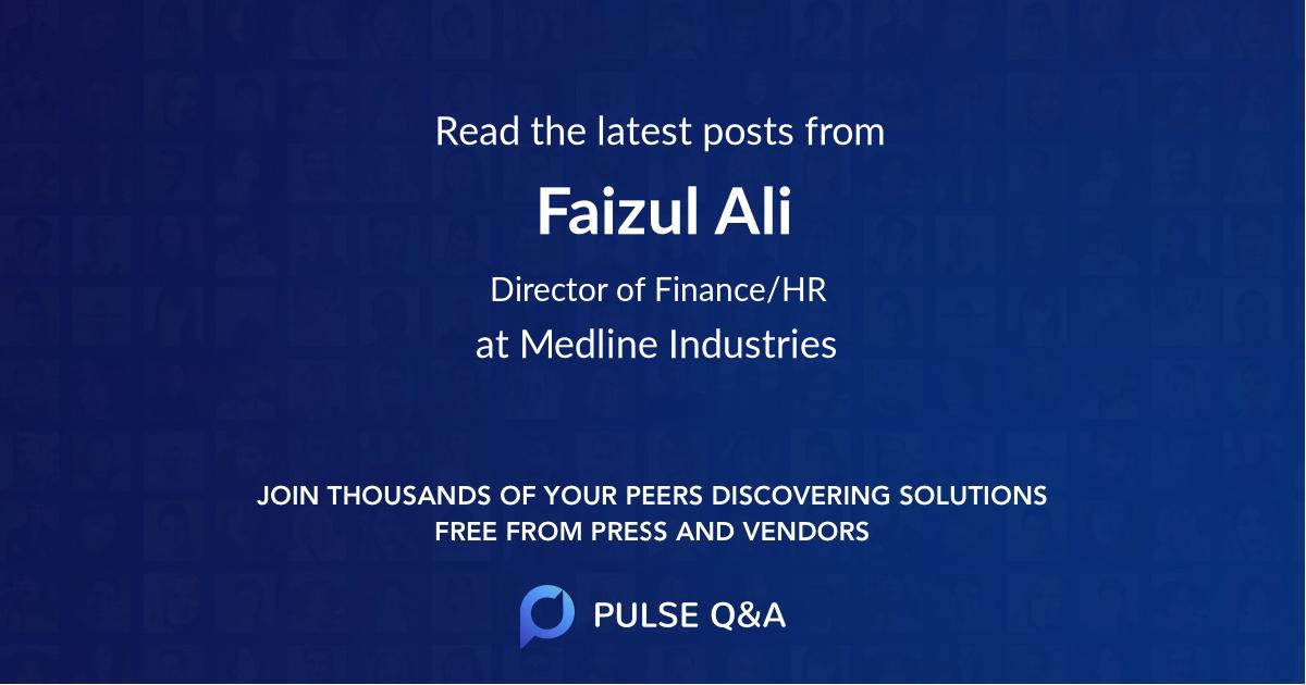 Faizul Ali