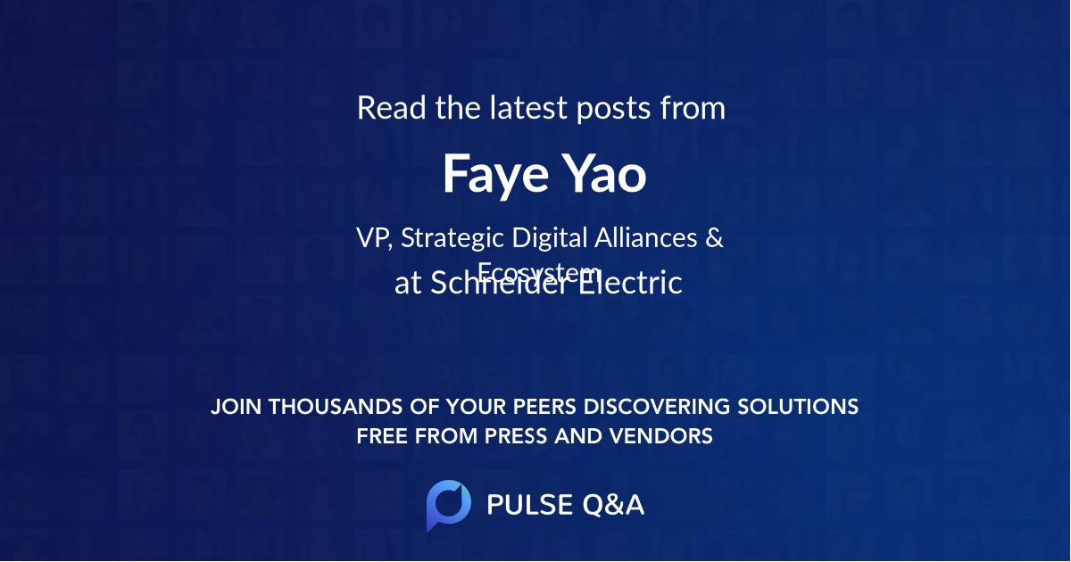 Faye Yao