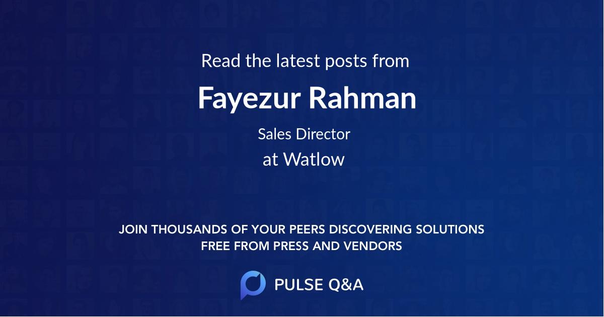Fayezur Rahman