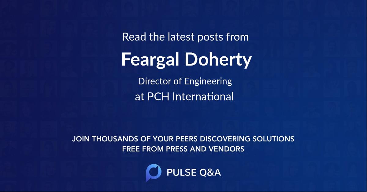 Feargal Doherty