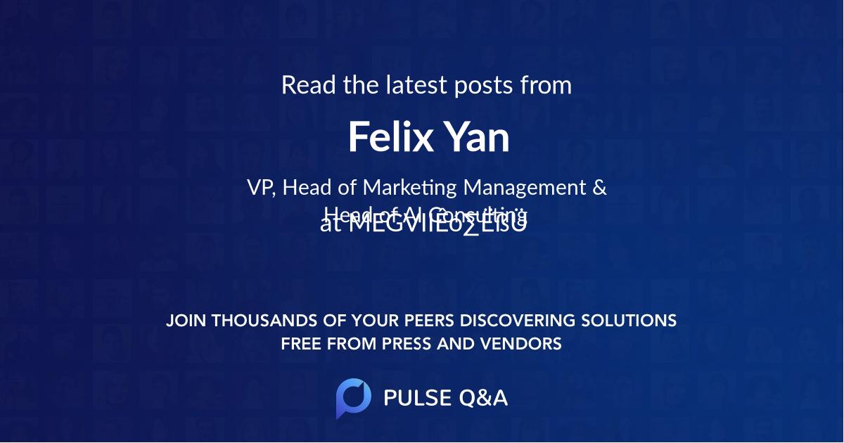 Felix Yan