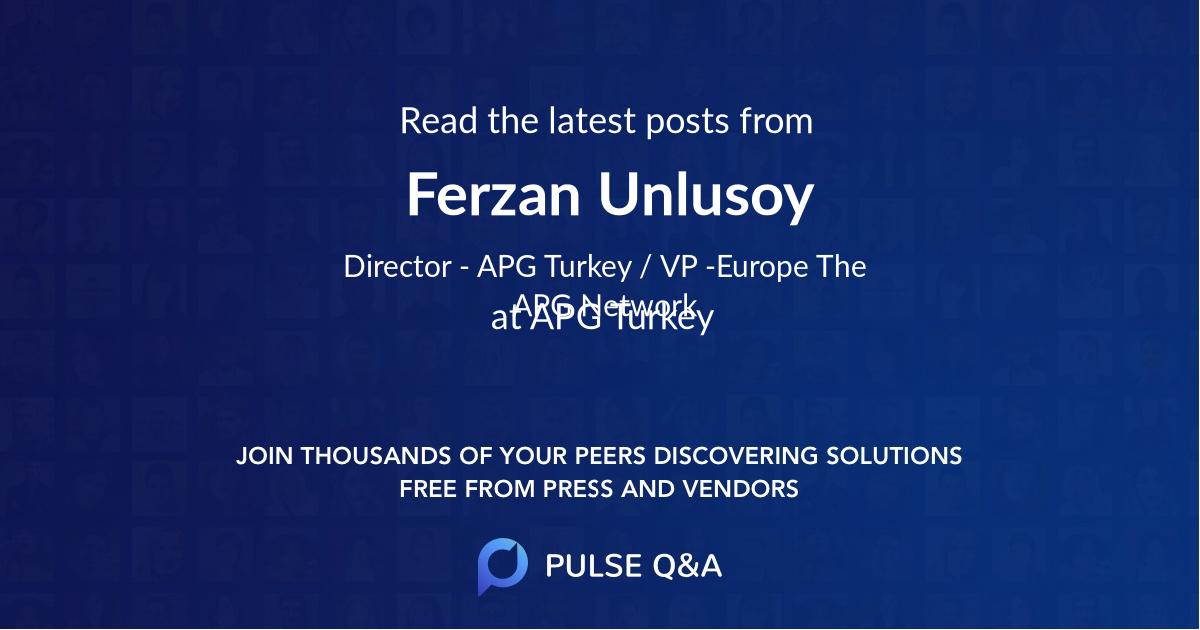 Ferzan Unlusoy