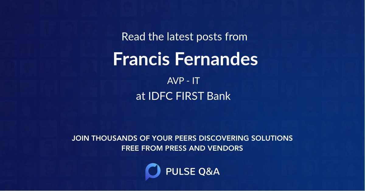 Francis Fernandes