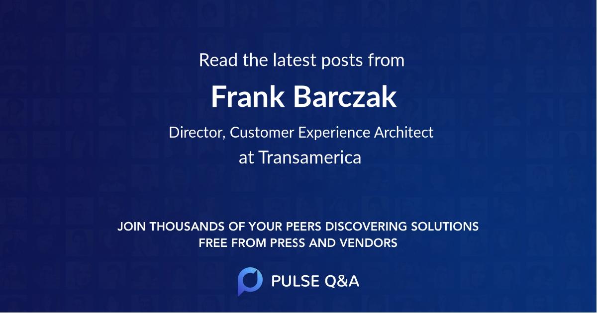 Frank Barczak