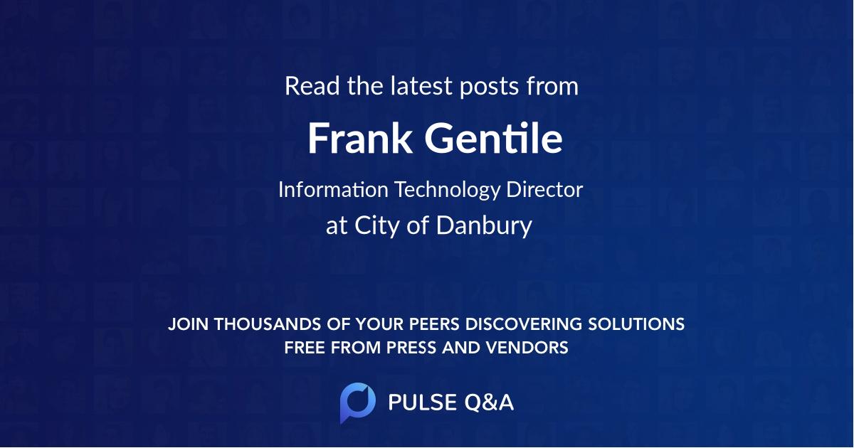 Frank Gentile