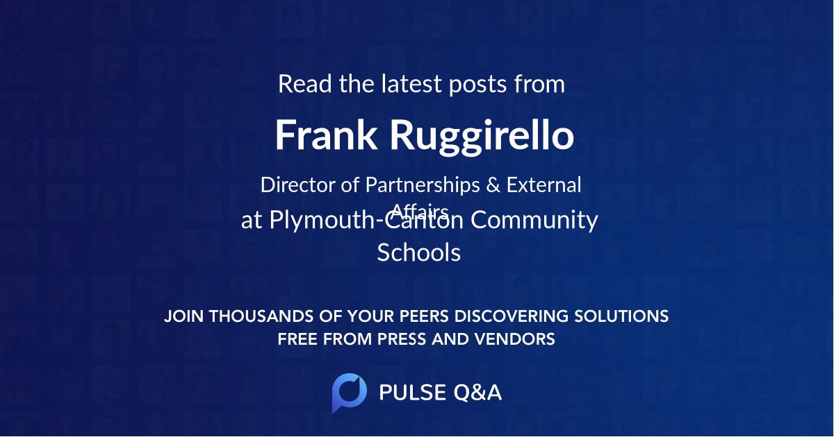 Frank Ruggirello