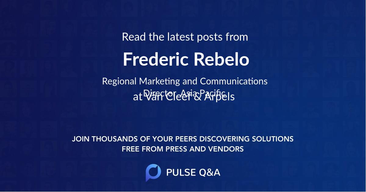 Frederic Rebelo