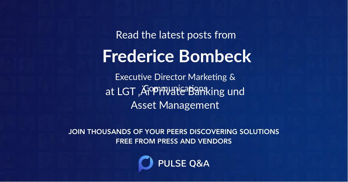 Frederice Bombeck