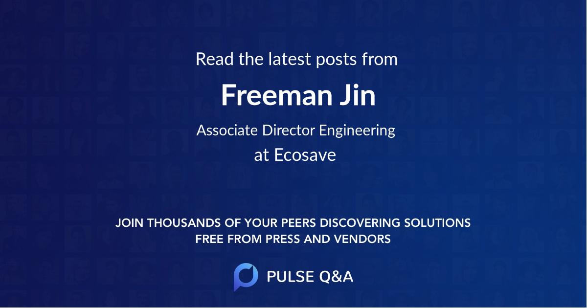 Freeman Jin