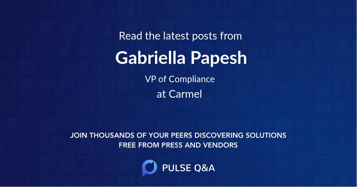 Gabriella Papesh