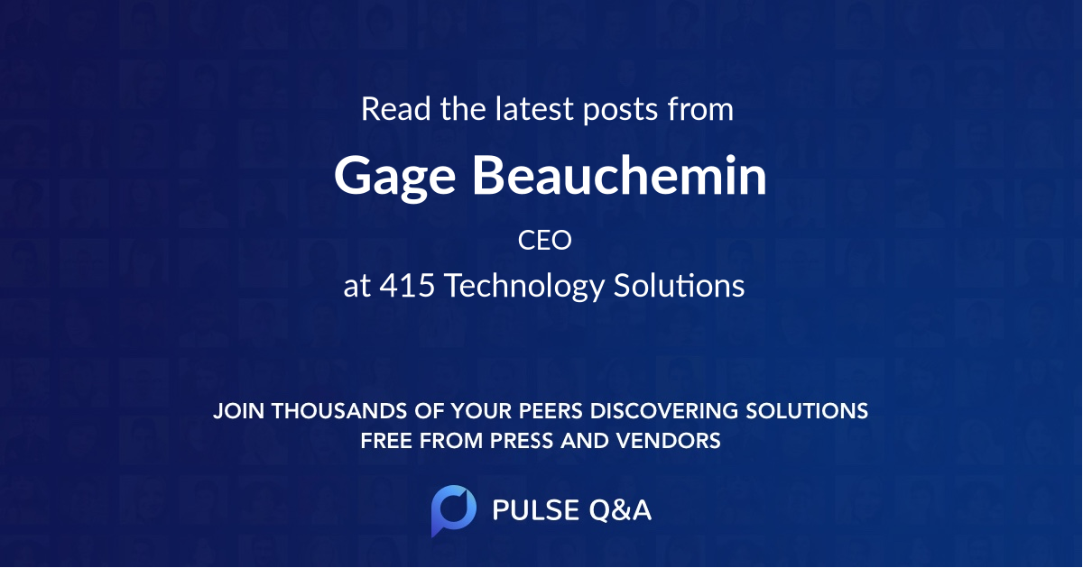 Gage Beauchemin