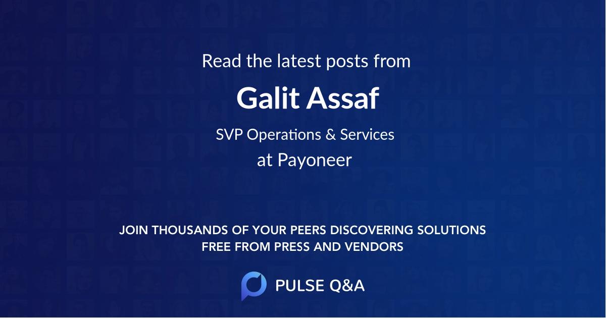 Galit Assaf