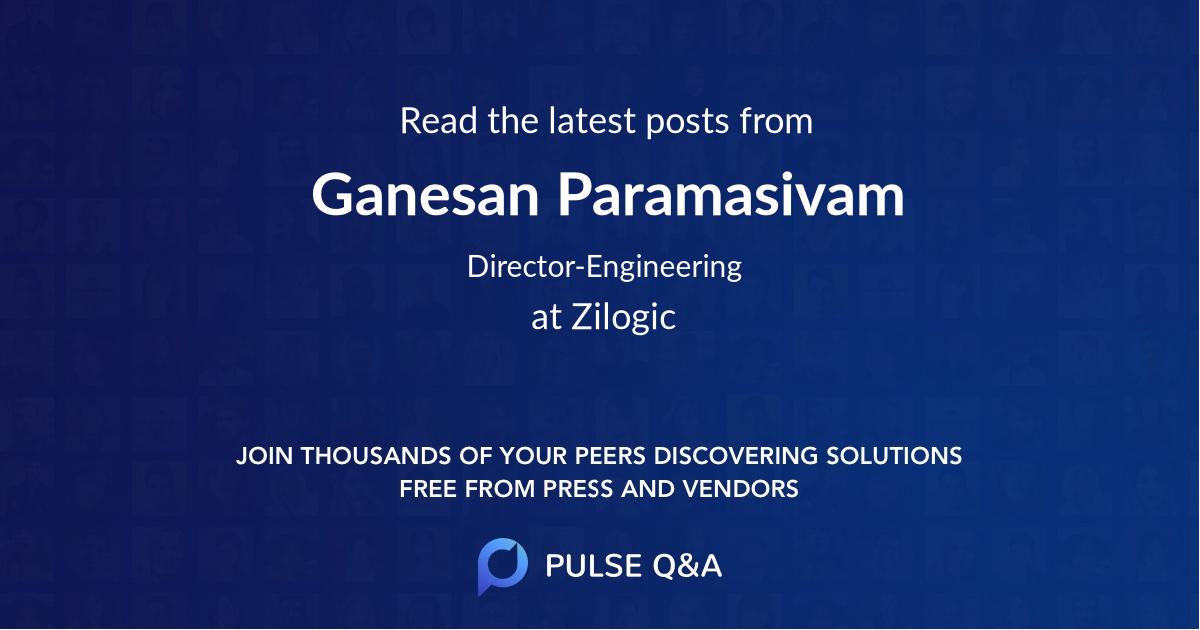 Ganesan Paramasivam