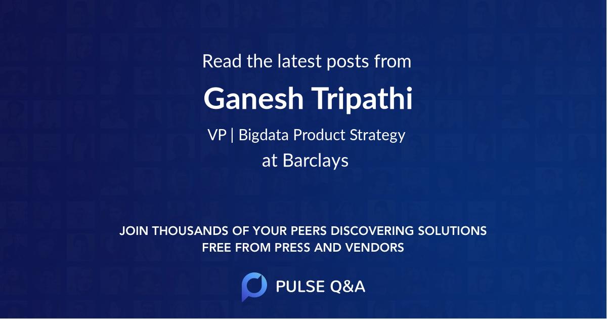 Ganesh Tripathi