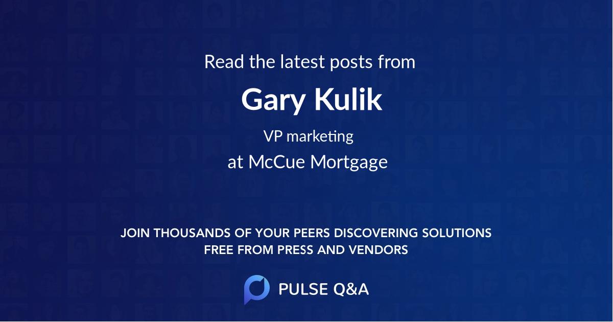 Gary Kulik