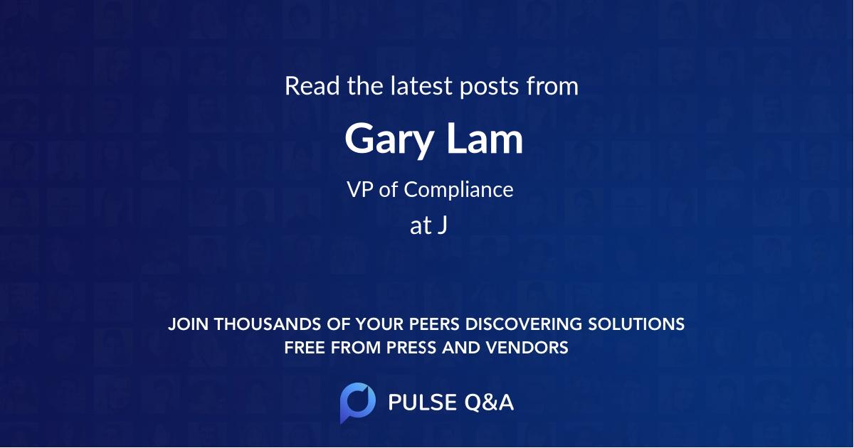 Gary Lam