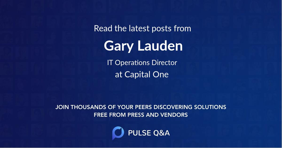 Gary Lauden