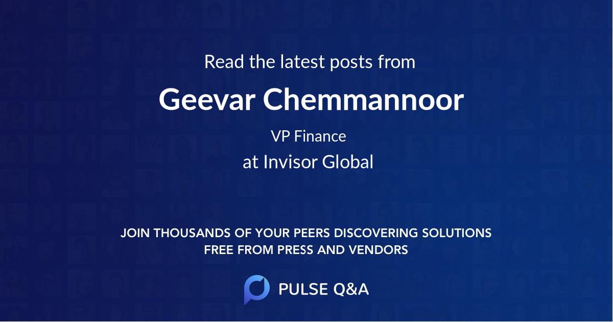 Geevar Chemmannoor