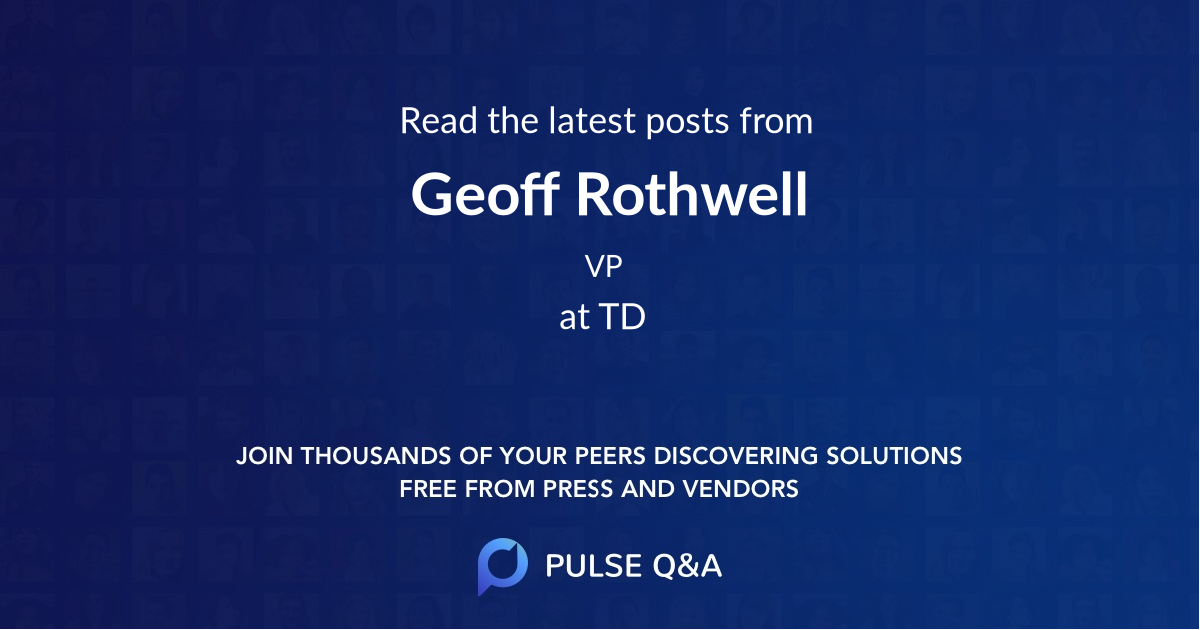Geoff Rothwell